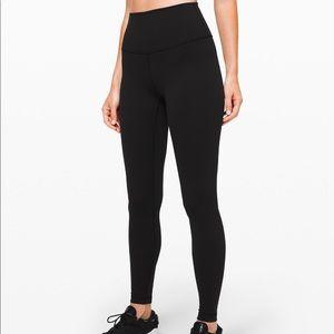 Lululemon Wonder Under Black leggings 10